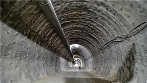 Çorum'da yapılan Kırkdilim Tünelleri'nde sona geliniyor
