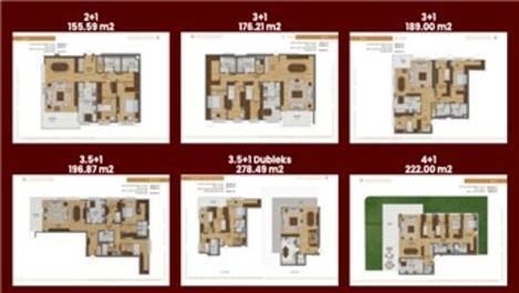 Nidapark Çengelköy Projesi Kat Planları