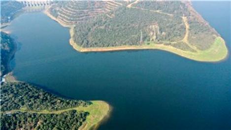 İstanbul'un barajlarında su seviyesi %52,29'a yükseldi