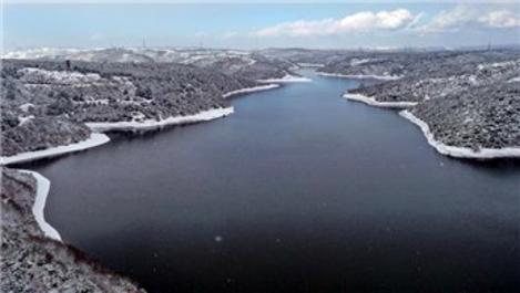 İstanbul'un barajlarında doluluk oranı %53,14 oldu!