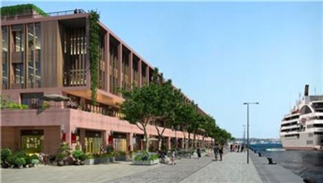 Galataport'ta Knauf ürünleri tercih edildi