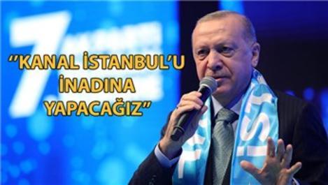 Cumhurbaşkanı ''Biz İstanbul'a ömrümüzü adadık''