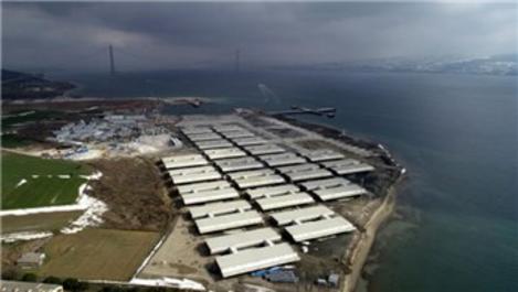Çanakkale Köprüsü'nün 700 tonluk tabliyeleri şantiyede