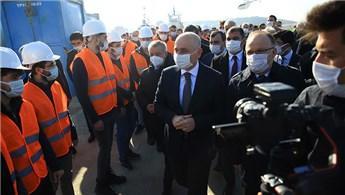 Bakan Karaismailoğlu, Filyos Limanı'nı inceledi