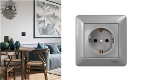 Schneider Electric'ten Asfora EM anahtar-priz serisi