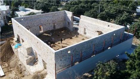 Alanya'daki tarihi Gülevşen Camisi restore ediliyor