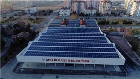 Kayseri'de güneş enerjisiyle belediyeye 15 milyon TL'lik katkı!