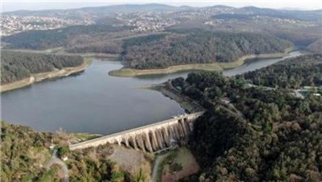 İstanbul'un barajlarındaki doluluk %56,71'e yükseldi