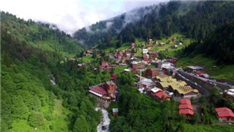 Ayder'e dağın içerisinde 1732 araçlık otopark!