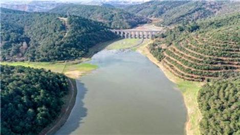 İstanbul'un barajlarındaki su seviyesi %57,23'e yükseldi