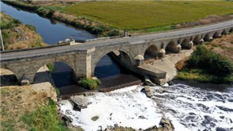 Restorasyon ihalesi tamamlanan Uzunköprü'nün onarımı başlıyor