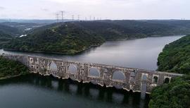 İstanbul barajlarında su seviyesi %57,63'e yükseldi