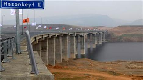 Hasankeyf 2 Köprüsü açılışa hazırlanıyor!