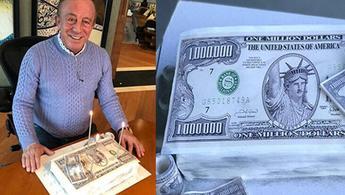 Ali Ağaoğlu'na ''1 Milyon Dolarlık'' doğum günü pastası!