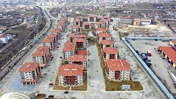 Elazığ deprem konutlarında yaşam başladı!