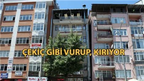 Bitişik nizam binalarda depremin etkisi katlanıyor!