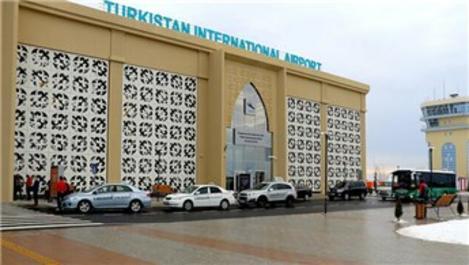 Türkistan'dan ilk uluslararası uçak seferi Türkiye'ye yapılacak