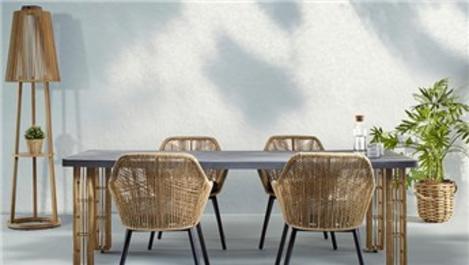 L'unica'dan dış mekan mobilyası seçimin püf noktaları