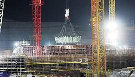 Akkuyu NGS'de 3. reaktörün temeli atılıyor