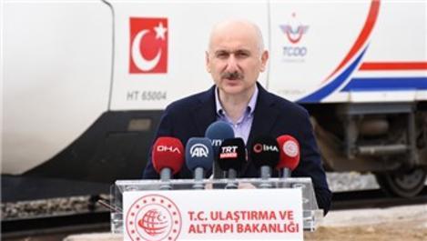 'Ankara-Sivas YHT, haziranda hizmete girecek'
