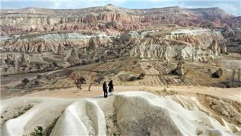 Kapadokya'yı 2021'in ilk 2 ayında 93 bin turist gezdi