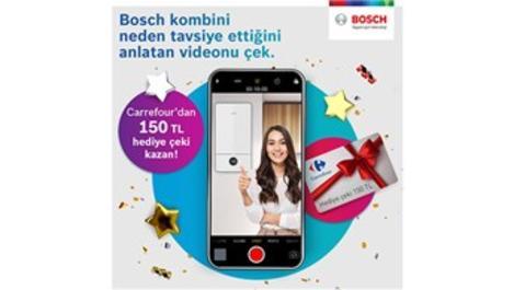 Bosch Termoteknoloji'den 'Bosch Kombi Tavsiye Kampanyası'