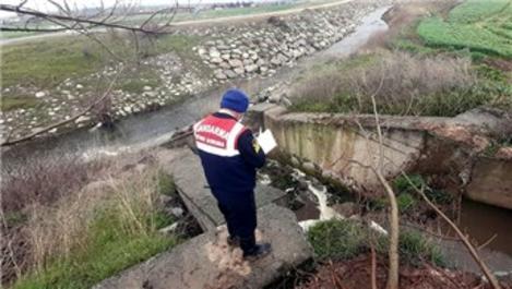 Bursa'da dereyi kirleten hayvan çiftliğine 288 bin 385 TL ceza!