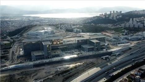 Kocaeli Şehir Hastanesi'nin yüzde 74'ü tamamlandı!