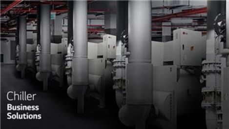 Büyük binalarda etkili soğutmaya LG Chiller imzası!