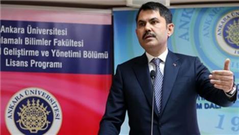 Bakan Murat Kurum'dan kentsel dönüşüm açıklaması!