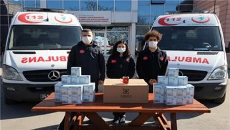Şişecam'dan sağlık çalışanlarına V-Block kupa!