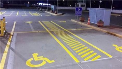 Otoparklar, artık engellilerin kullanımına uygun olacak