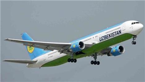 Özbekistan Hava Yolları'nın İstanbul seferi 28 Mart'ta başlıyor