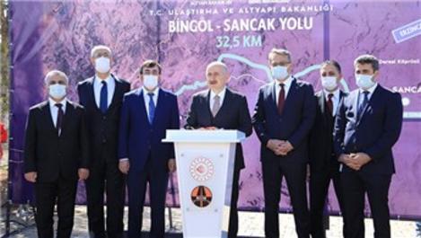 Bakan Karaismailoğlu, Bingöl Kuzey Çevre Yolu'nu inceledi