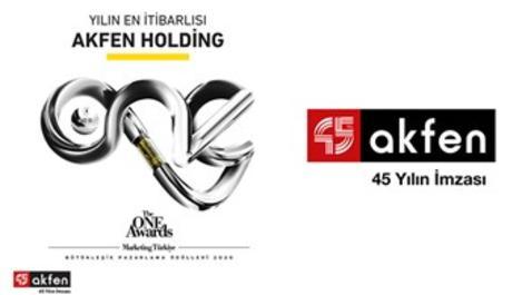 """Akfen Holding, """"En itibarlı Holding markası"""" seçildi"""