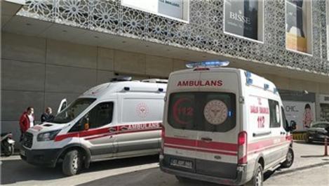 Konya'da bir AVM'de çıkan yangın söndürüldü