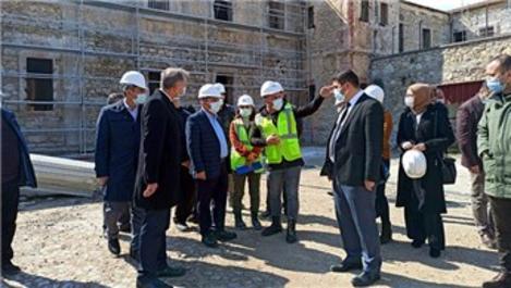 Tarihi Sinop Cezaevi ve Müzesi'nde restorasyon devam ediyor