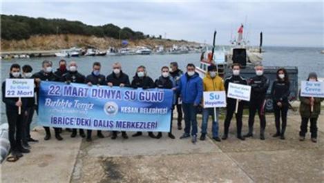 Saros Körfezi'nde deniz dibi temizliği yapıldı