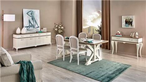 Angelic Yemek Odası ile modern ve klasiğin uyumu!