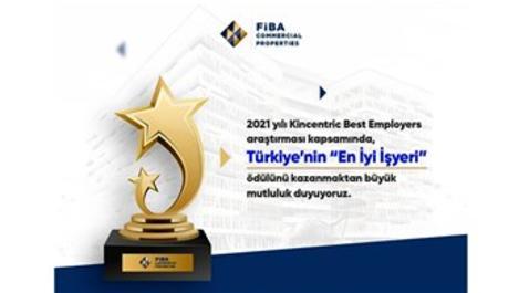 Fiba CP, 'Türkiye'nin En İyi İşyeri' seçildi!