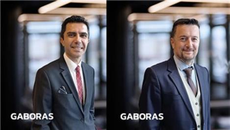 GABORAS'tan sürdürülebilir gelişim hedefiyle 2 yeni atama