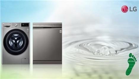 LG, su tasarruflu ürünleriyle gelecek için çalışıyor