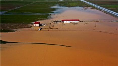 Muş'ta sağanak nedeniyle tarım arazileri su altında kaldı
