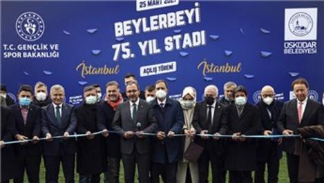 Beylerbeyi Stadı'nın açılışı yapıldı