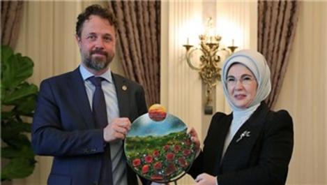 Emine Erdoğan'dan UNDP Türkiye'ye 'sıfır atık' için teşekkür!