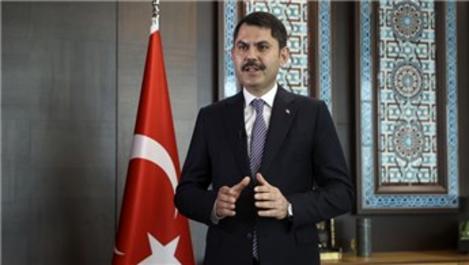 Bakan Kurum ''Kanal İstanbul imar planları onaylandı''