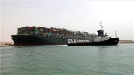 Süveyş Kanalı kazasının haftalık maliyeti 10 milyar dolar!
