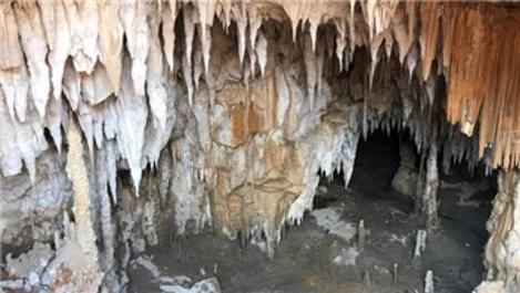Zonguldak'ta tünel inşaatında mağara ortaya çıktı
