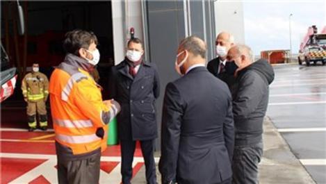 İstanbul Havalimanı'nda 'Deprem Müdahale Planı' yapıldı