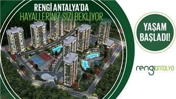 Şimdi Al, Hemen Taşın! Rengi Antalya'da Büyük Fırsat!
